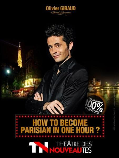 How to Become Parisian in One Hour ? par Olivier Giraud