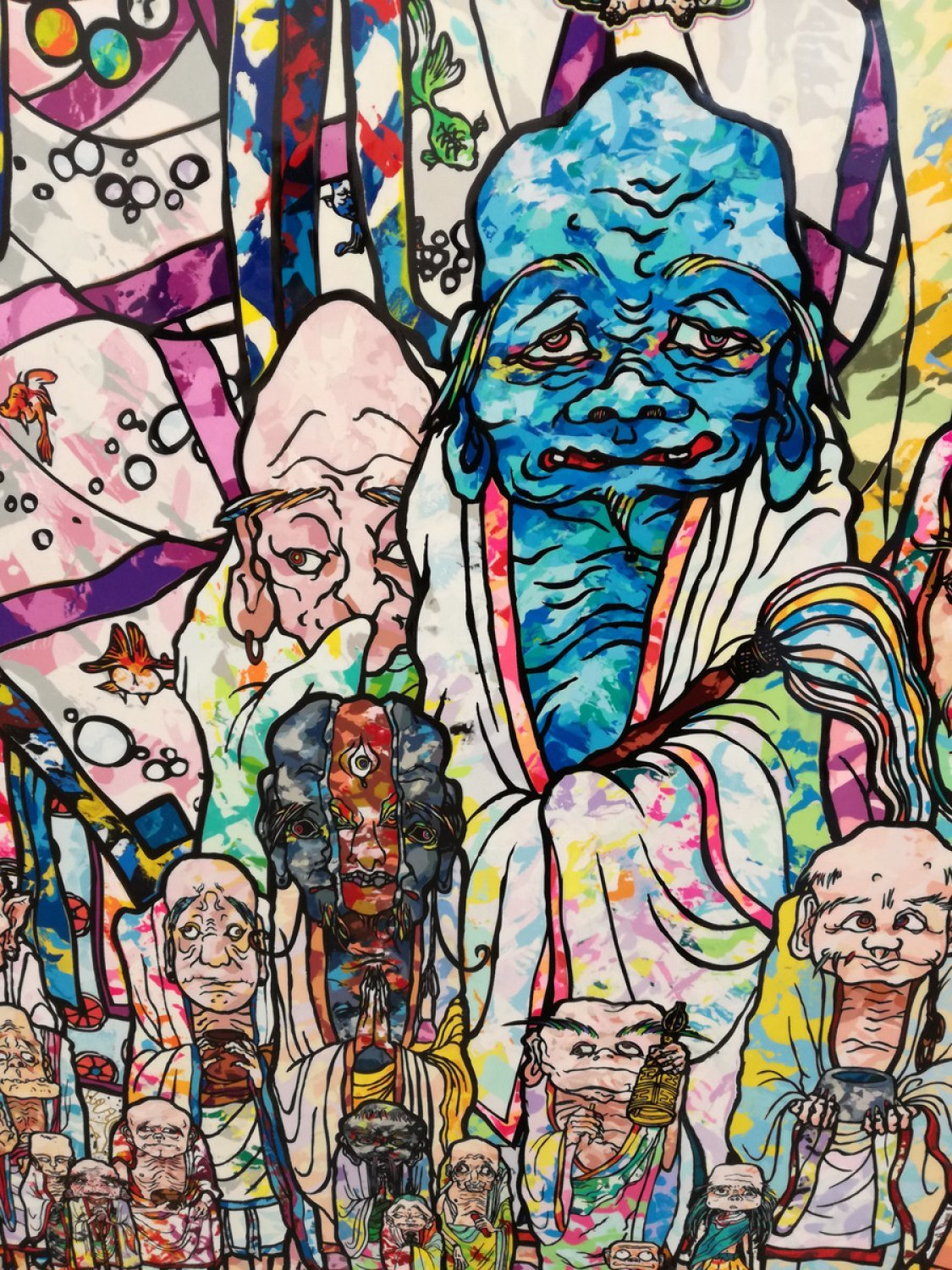 Exposition de Takashi Murakami - Learning the Magic of Painting