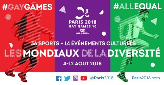 Les Gay Games 2018 à Paris