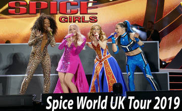 Spice World - 2019 Tour à Manchester